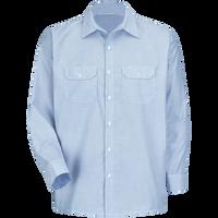 Men's Long Sleeve Deluxe Uniform Shirt