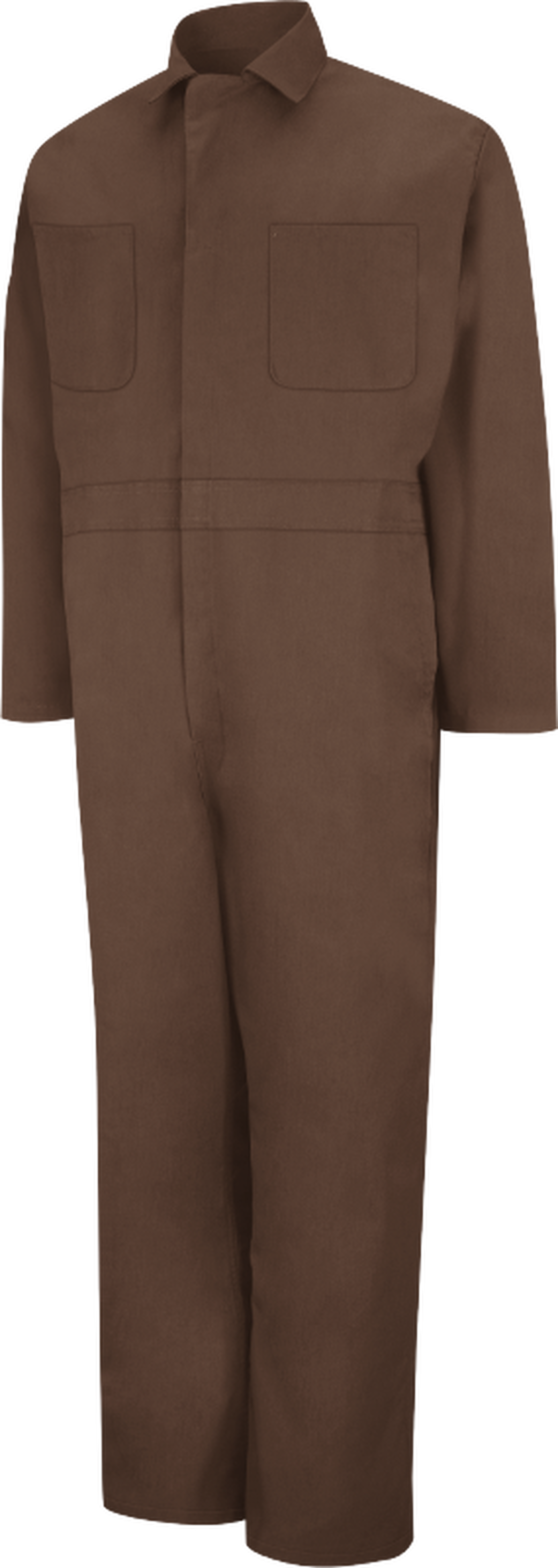 Men's Twill Action Back Coverall with Chest Pockets