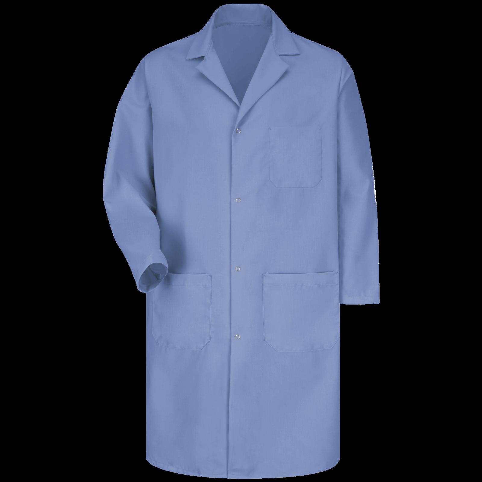 Red Kap Mens Gripper Front Short Butcher Coat