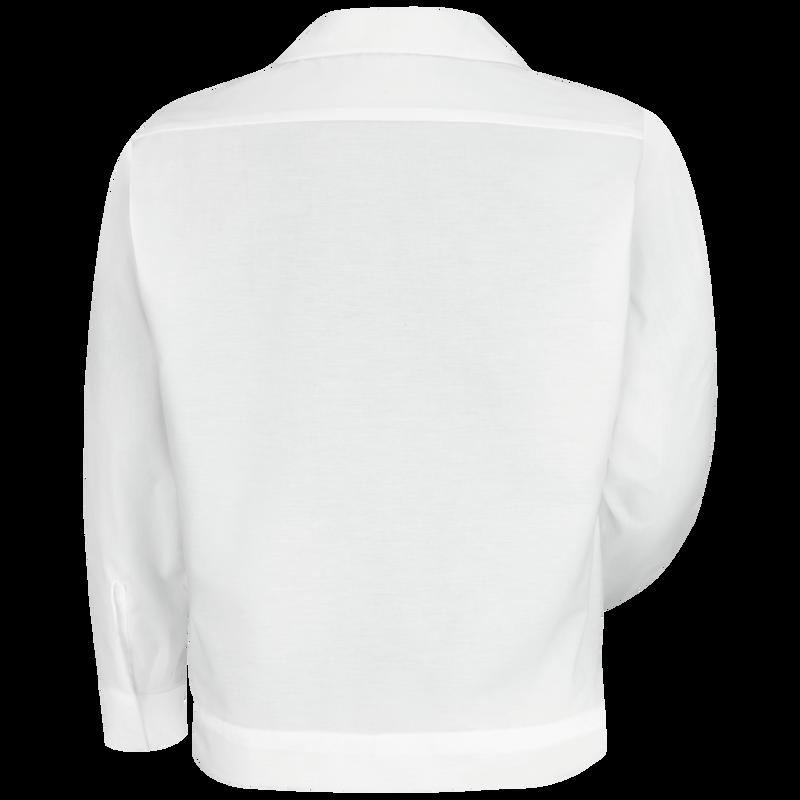 Men's Button-Front Shirt Jacket