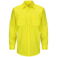 Long Sleeve Enhanced Visibility Ripstop Work Shirt