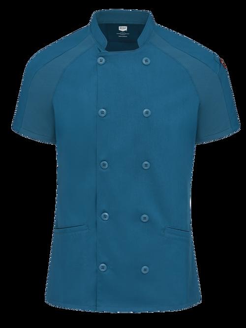 Women's Airflow Raglan Chef Coat with OilBlok