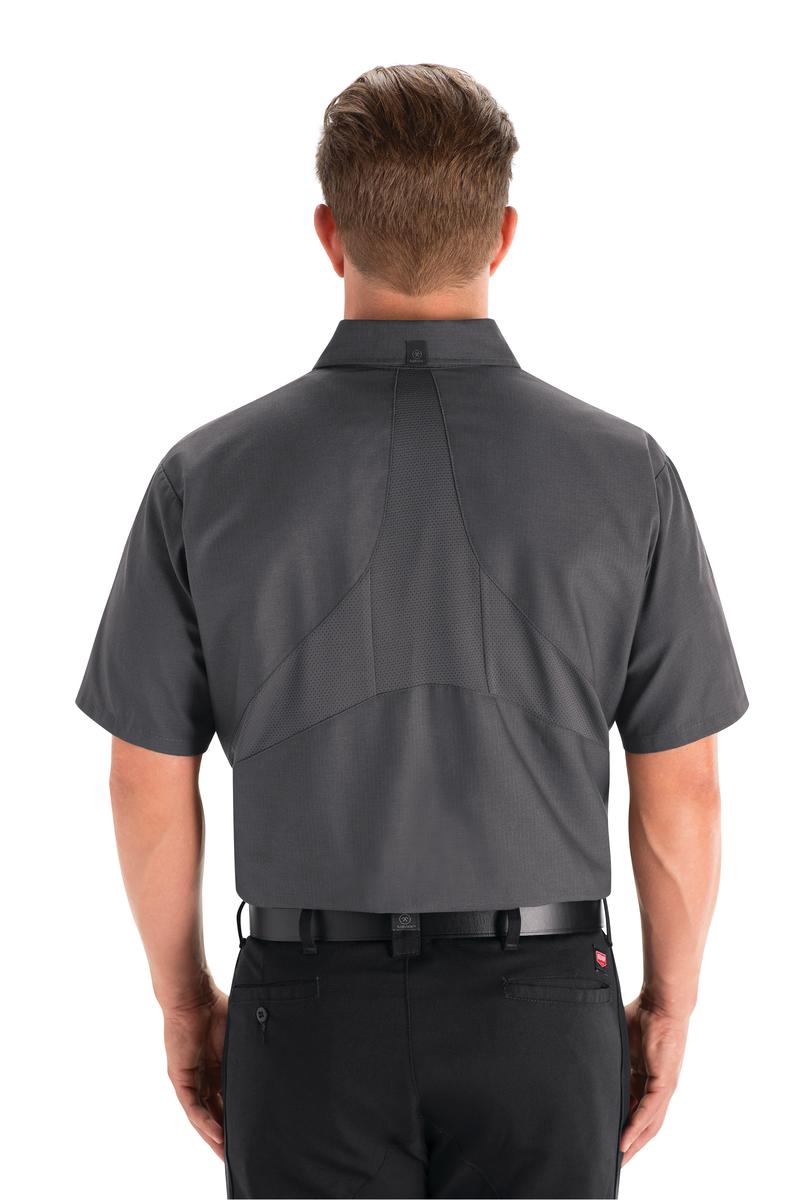 Men's Short Sleeve Work Shirt with MIMIX™