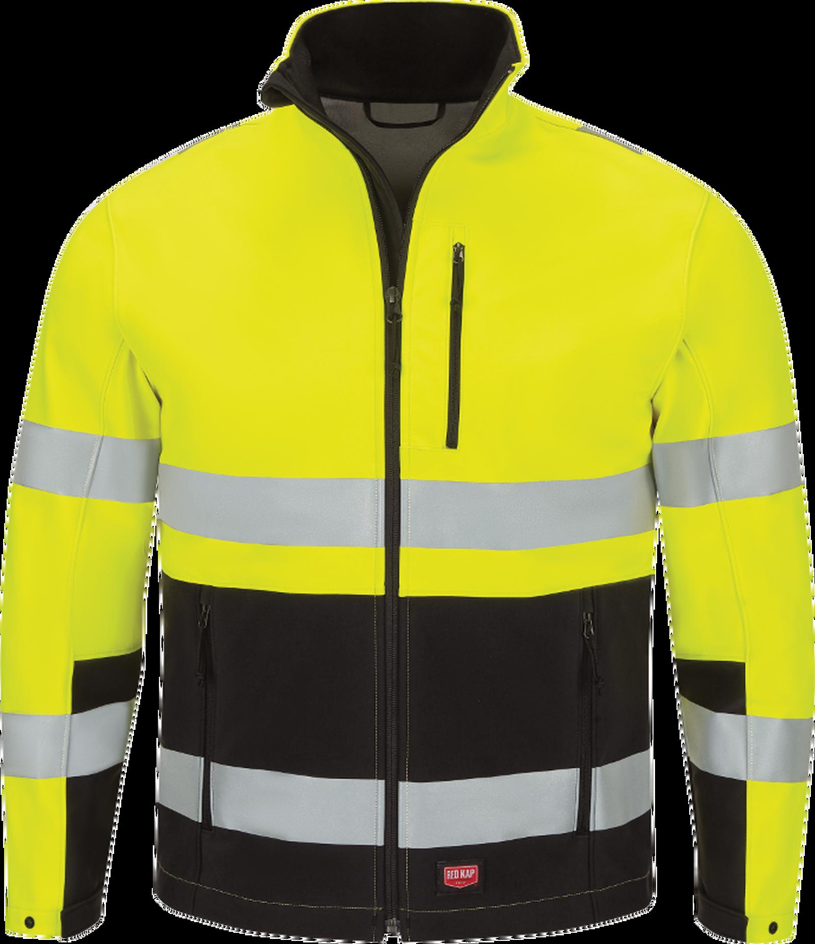 Men's Hi-Visibility Soft Shell Jacket
