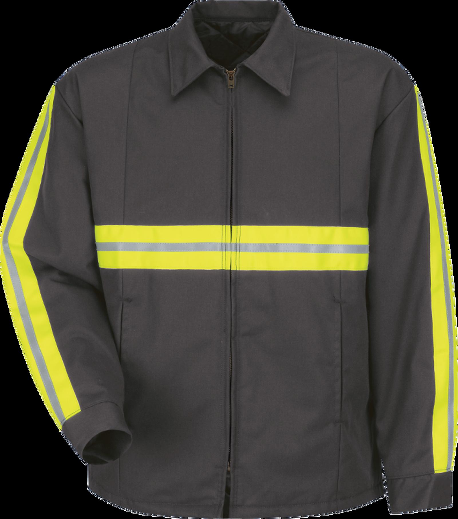 Men's Enhanced Visibility Perma-Lined Panel Jacket
