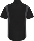 Men's Short Sleeve Performance Plus Shop Shirt with OilBlok Technology