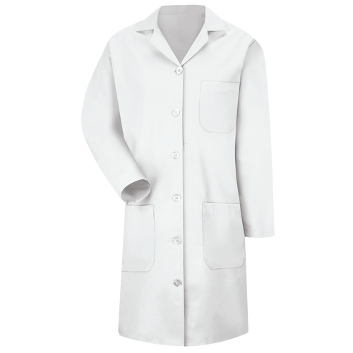 Women's Button-Front Lab Coat