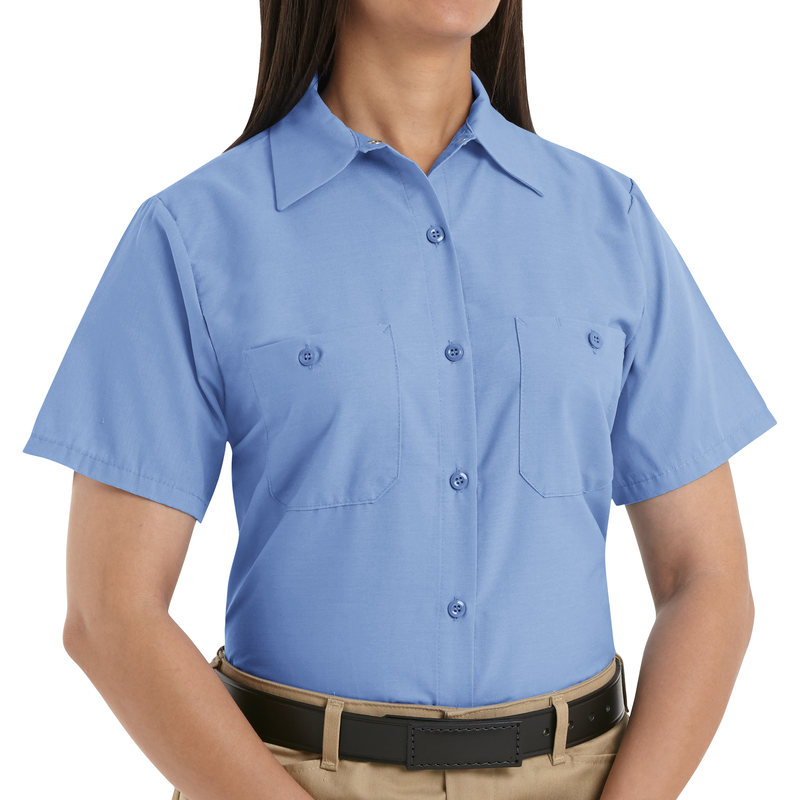 Women's Short Sleeve Industrial Work Shirt