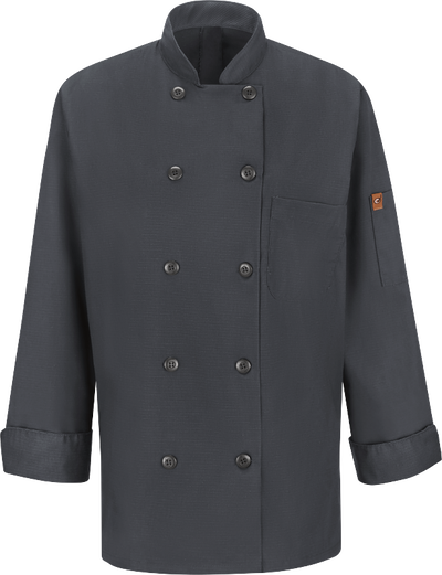 Chef Designs Women's Chef Coat with MIMIX™ and OilBlok