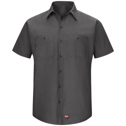 Men's Short Sleeve Work Shirt with MIMIX™