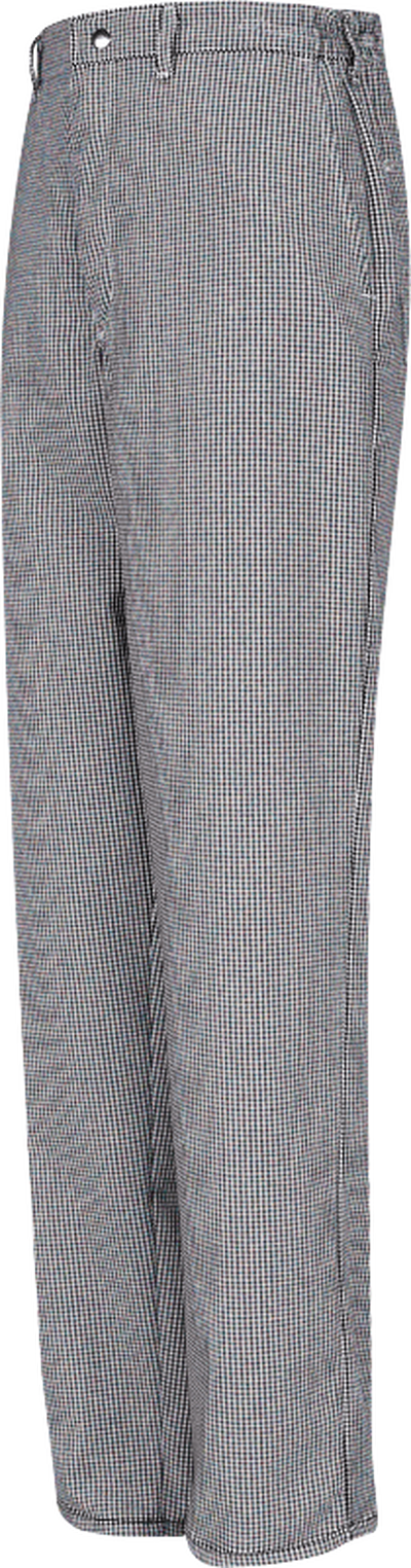 Spun Poly Checked Cook Pant