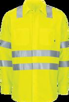 Long Sleeve Hi-Visibility Ripstop Work Shirt with MIMIX™ + OilBlok, Type R Class 3