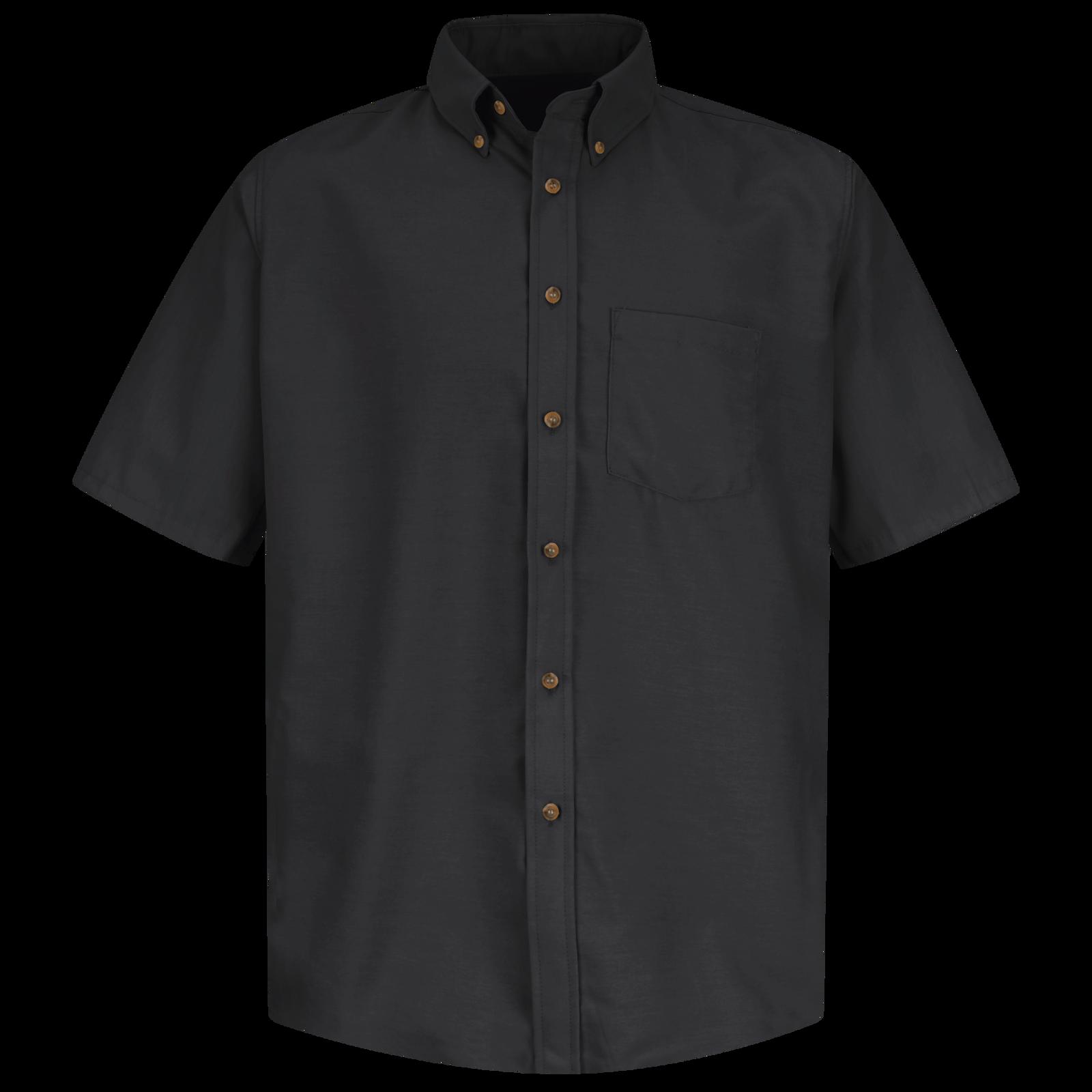 Men's Short Sleeve Poplin Dress Shirt   Red Kap®