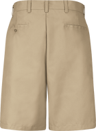 Men's Cotton Casual Plain Front Shorts