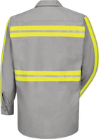 Long Sleeve Enhanced Visibility IndustrialWork Shirt