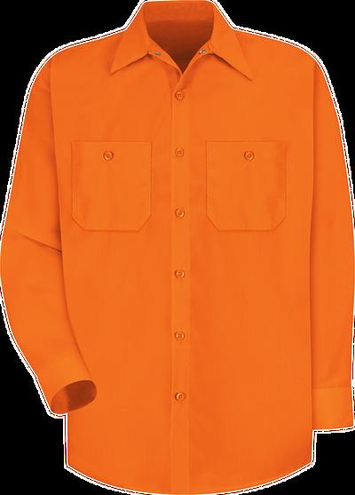 Long Sleeve Enhanced Visibility Work Shirt