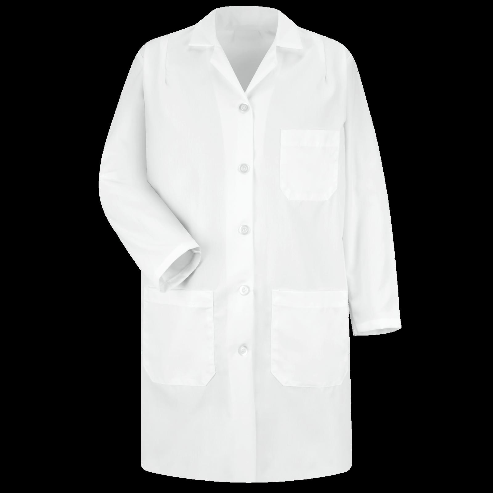 Women S Lab Coat Red Kap