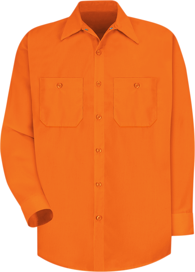 Long Sleeve Enhanced Visibility Work Shirt