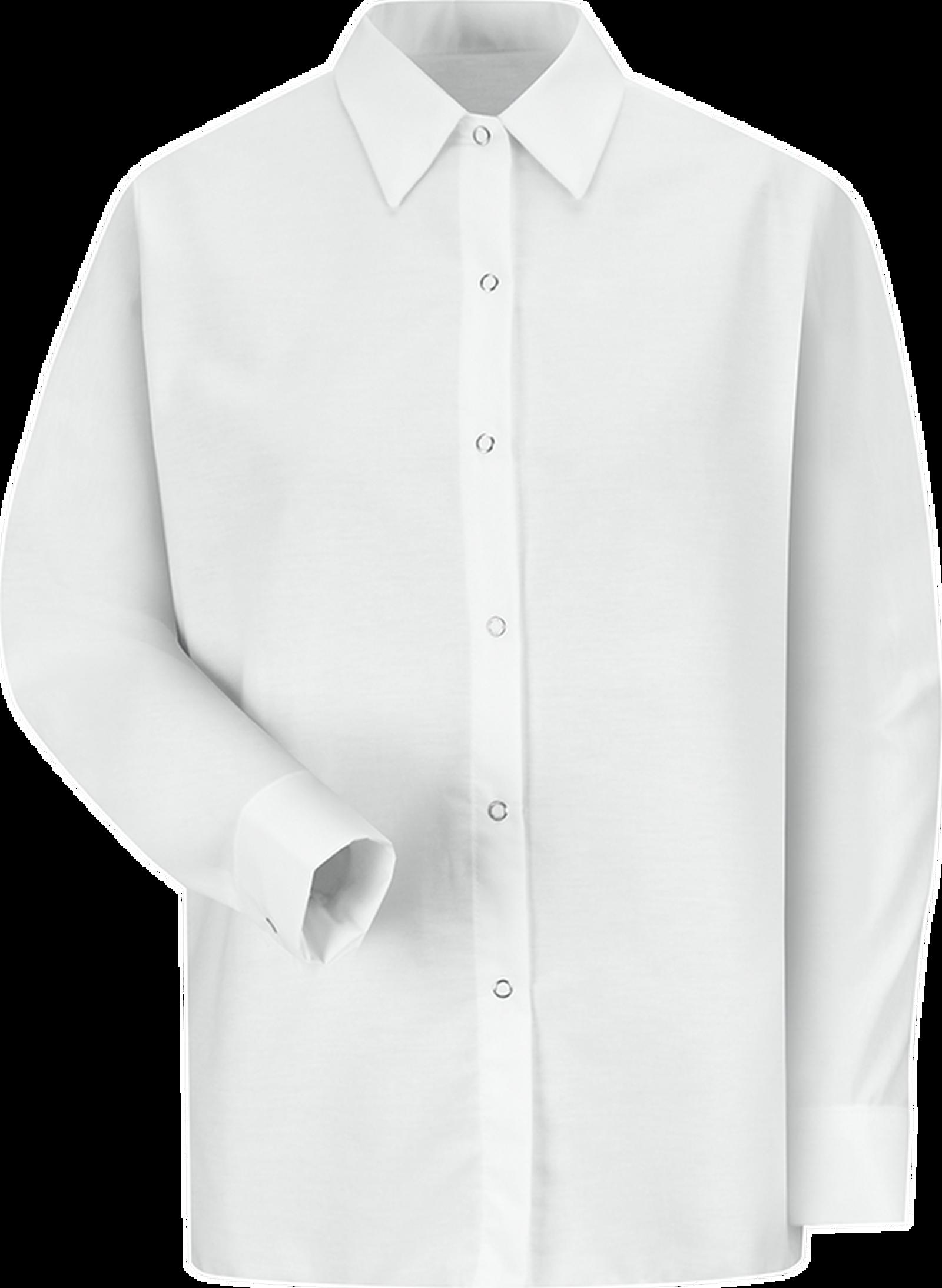 Women's Long Sleeve Specialized Pocketless Work Shirt