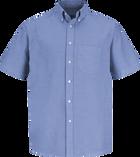 Men's Short Sleeve Executive Oxford Dress Shirt