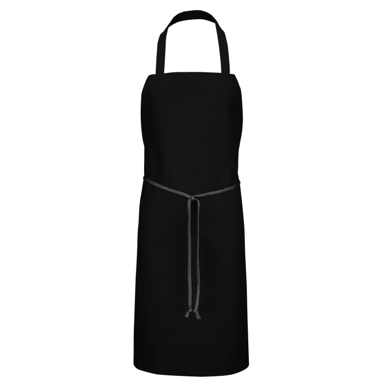 Poly-Cotton Standard Bib Apron with Pencil Pocket