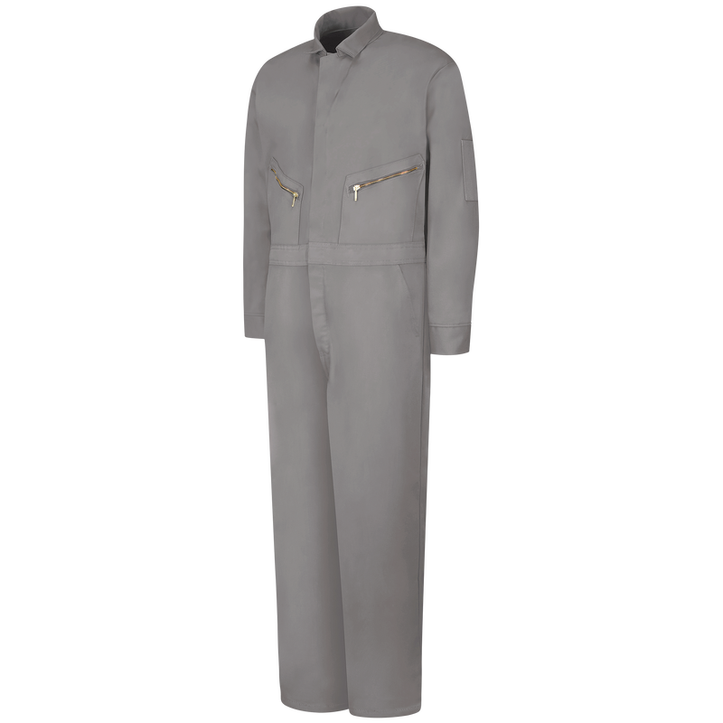 Zip-Front Cotton Coverall