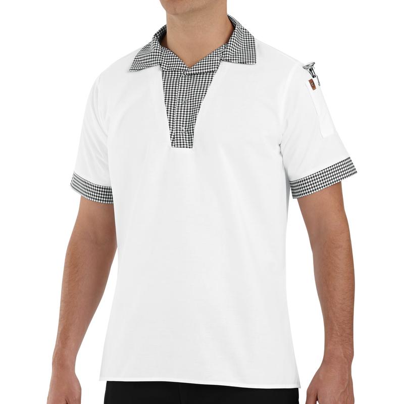 Snappy V-Neck Chef Shirt