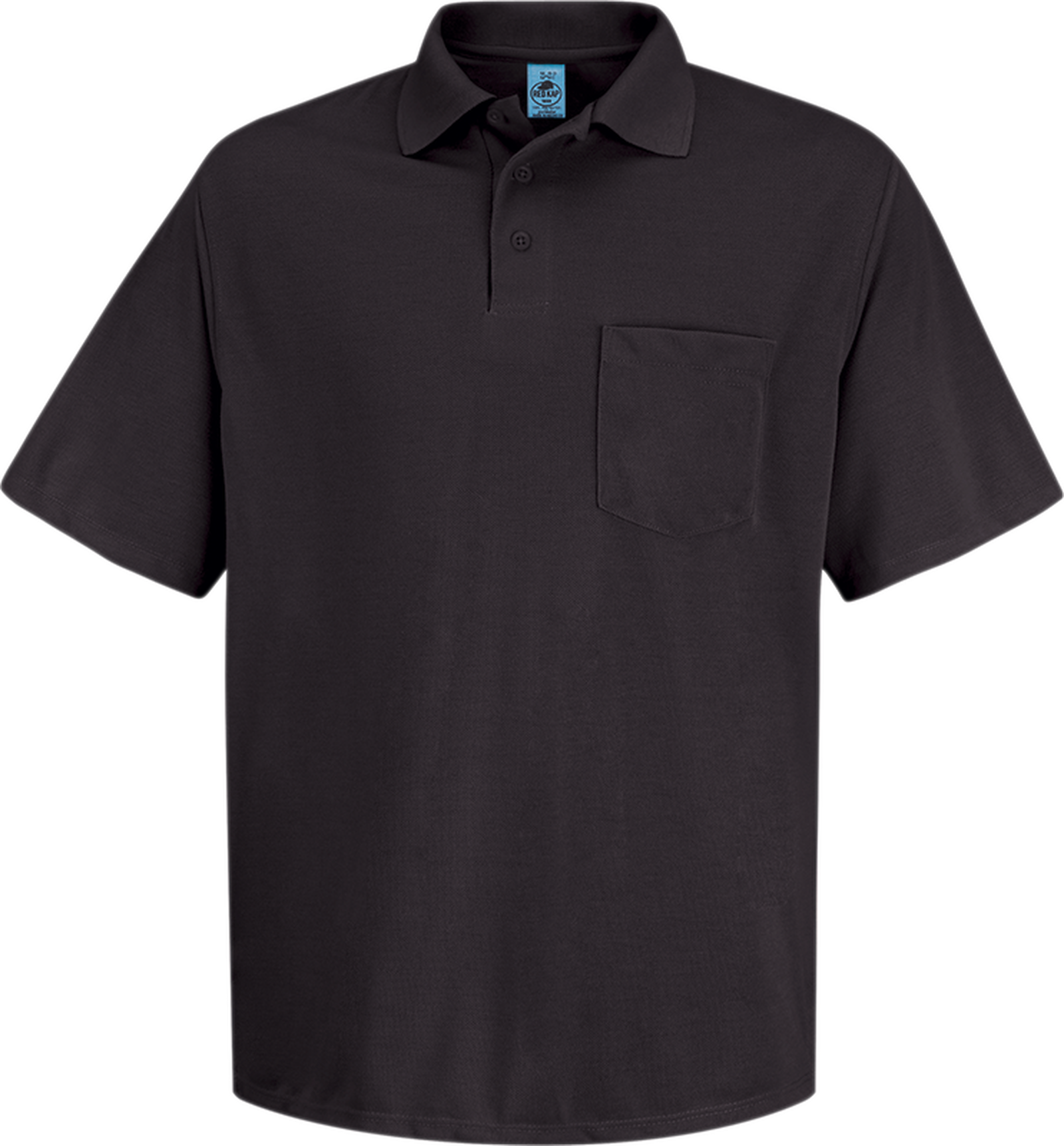 Men's Short Sleeve Spun Polyester Pocket Polo
