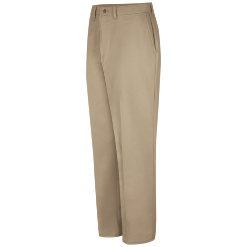 Men's Plain Front Cotton Pant