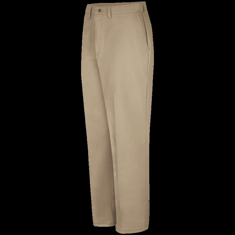 Men's Plain Front Cotton Pant