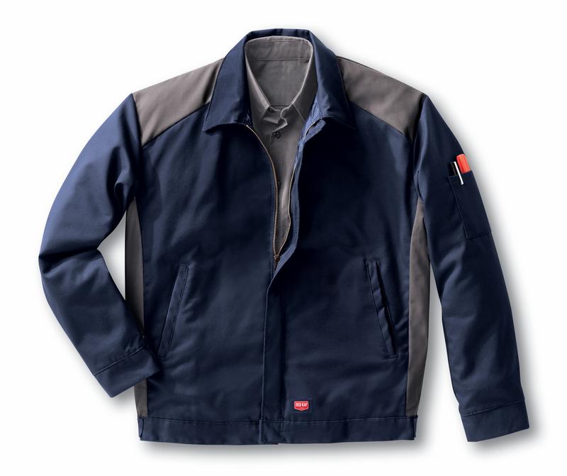 Men's Color Block Performance Crew Jacket