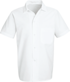 Chef Designs Button-Front Cook Shirt