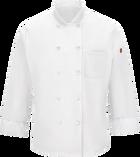 Chef Designs Men's Chef Coat with MIMIX™ and OilBlok