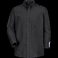Men's Long Sleeve Poplin Dress Shirt