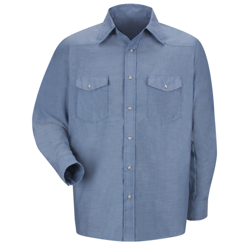 Men's Long Sleeve DeluxeWestern Style Shirt