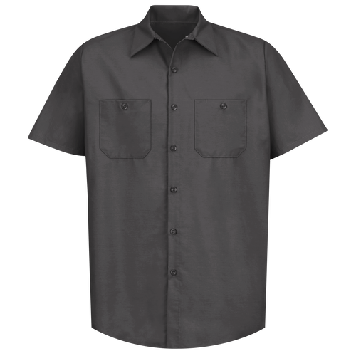 Men's Short Sleeve Industrial Work Shirt
