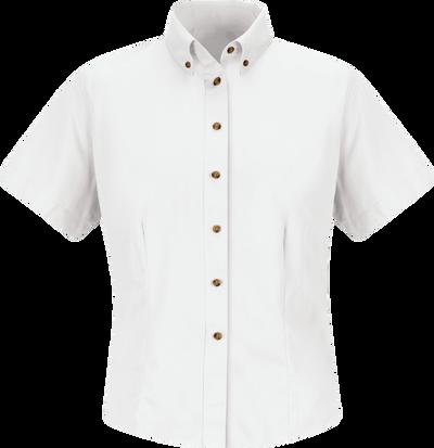 Women's Short Sleeve Meridian Performance Twill Shirt