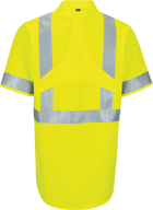 Short Sleeve Hi-Visibility Ripstop Work Shirt with MIMIX™ + OilBlok, Type R Class 2