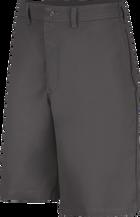 Men's Plain Front Side Elastic Shorts