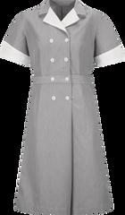 Women's Double-Breasted Lapel Dress
