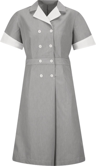 Women's Double-Breasted Lapel Dress