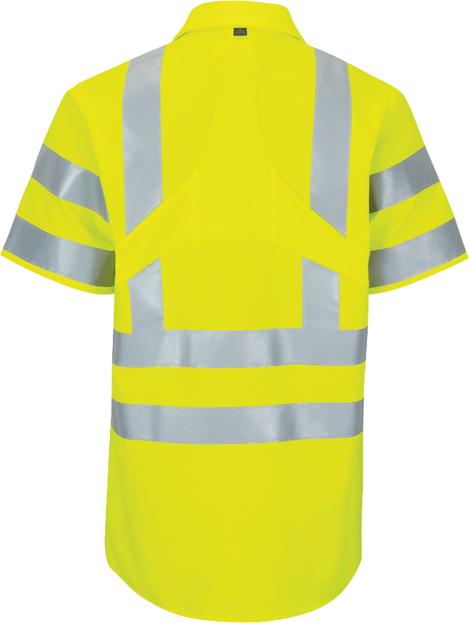 Short Sleeve Hi-Visibility Ripstop Work Shirt with MIMIX™ + OilBlok, Type R Class 3