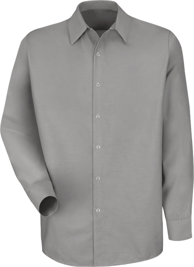 Men's Long Sleeve Specialized Pocketless Work Shirt