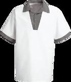 Chef Designs Snappy V-Neck Chef Shirt