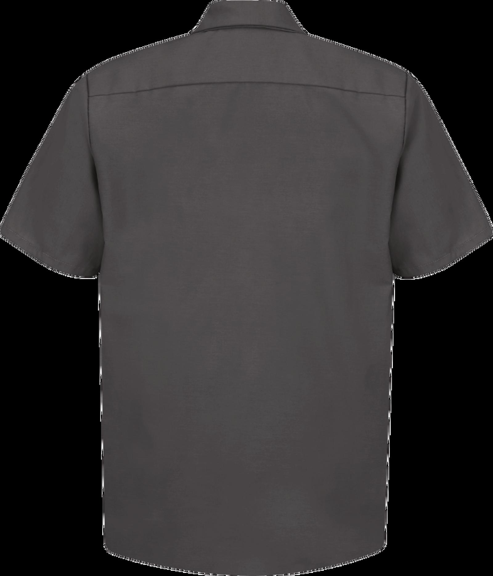 Men's Short Sleeve Industrial Work Shirt