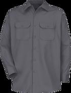 Men's Long Sleeve Deluxe Heavyweight Cotton Shirt