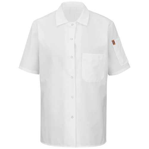 Women's Short Sleeve Cook Shirt with MIMIX™