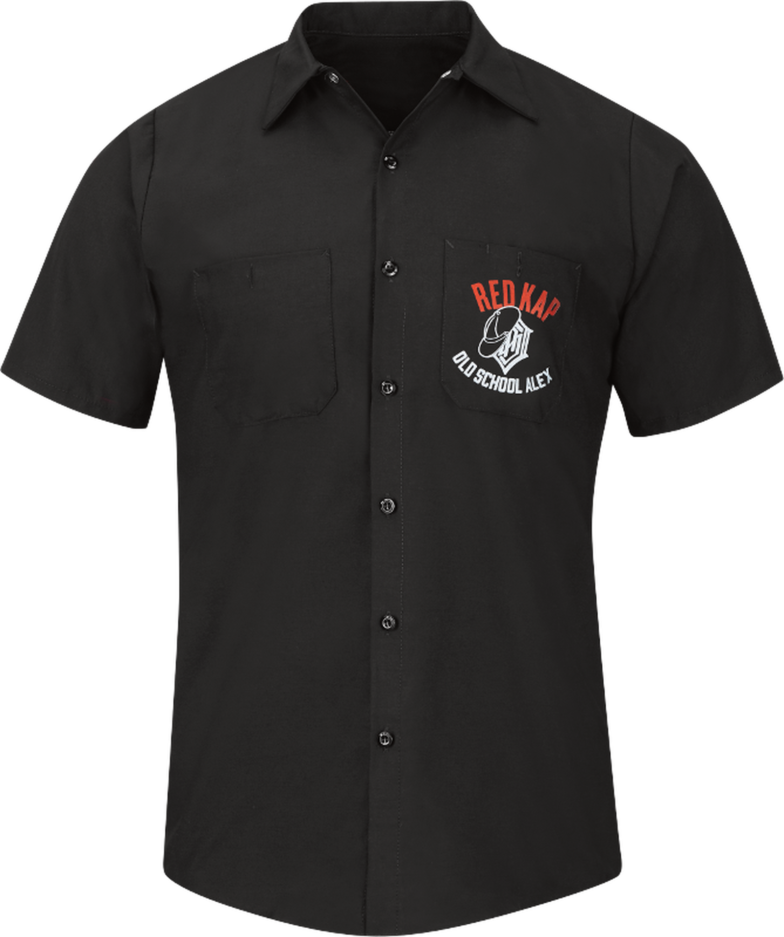 Men's Limited-Edition SEMA 2019 Work Shirt, co-designed by OldSchoolAlex