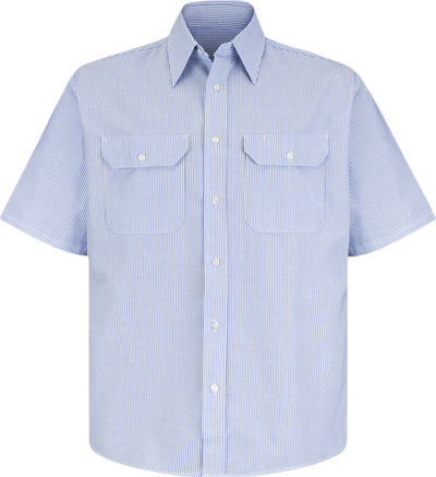 Men's Short Sleeve Deluxe Uniform Shirt