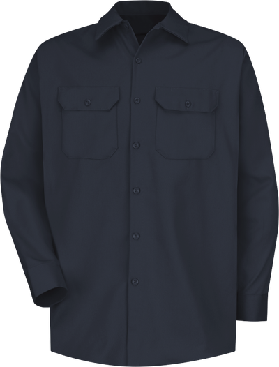 Men's Long Sleeve Deluxe Heavyweight Cotton Shirt